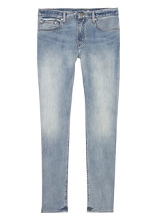 Banana Republic Athletic Tapered Rapid Movement Denim Light Wash Jean