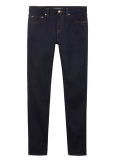 Banana Republic Athletic Tapered Rapid Movement Denim Stay Blue Jean