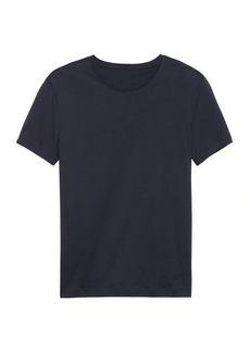 Banana Republic Tech Cotton Crew-Neck T-Shirt