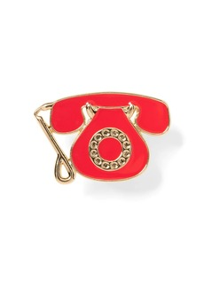 Banana Republic Telephone Brooch