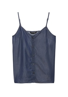 Banana Republic TENCEL™ Chambray Button-Front Camisole