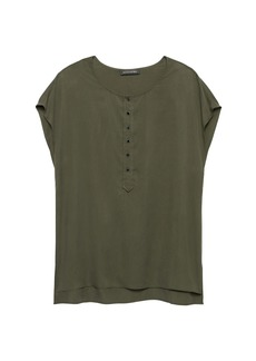 Banana Republic TENCEL™ Henley Top