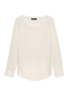 Banana Republic TENCEL™ High-Low Hem Top