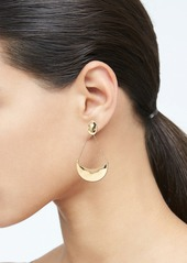 Banana Republic Textured Metal Drop Earrings