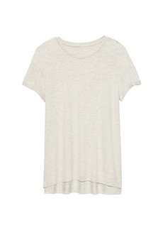 Banana Republic Threadsoft High-Low Hem T-Shirt
