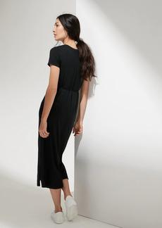 Banana Republic Threadsoft Maxi T-Shirt Dress with Side Slits