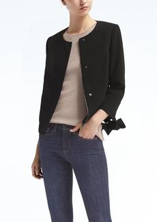Tie-Sleeve Jacket