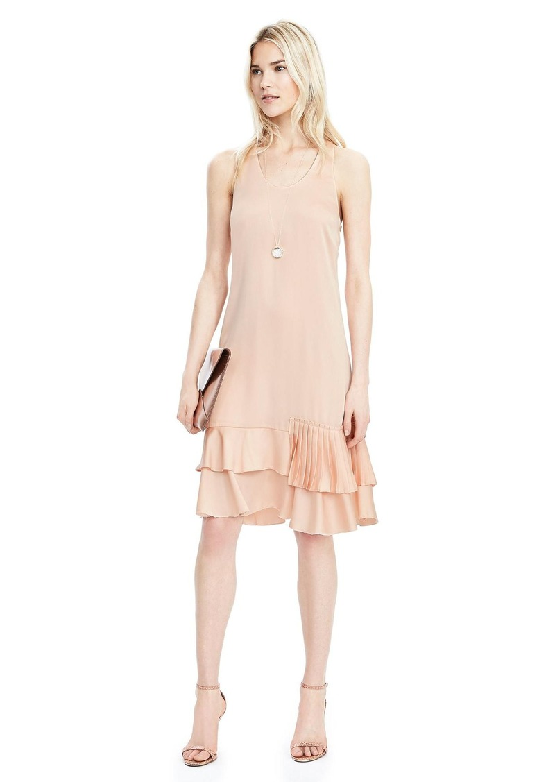 Banana Republic Tiered-Ruffle Drop Waist Dress