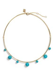 Banana Republic Turquoise Bauble Short Necklace