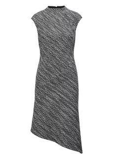 Banana Republic Tweed Mock-Neck Sheath Dress