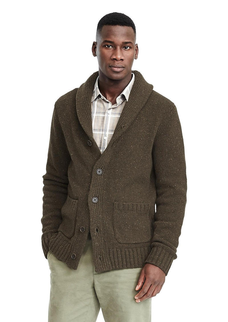 Banana Republic Tweed Slub Shawl Cardigan Sweaters