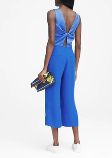 Banana Republic Twist-Back Cropped Jumpsuit