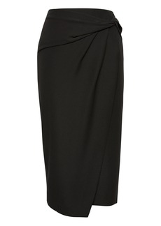 Banana Republic Twist-Front Pencil Skirt