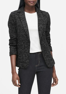Banana Republic Unstructured Knit Tweed Blazer
