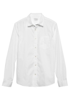 Banana Republic Untucked Slim-Fit Luxe Poplin Shirt