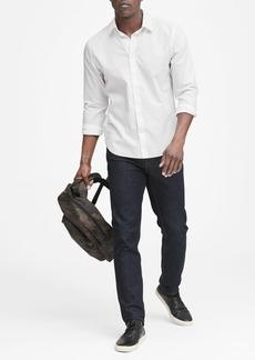 Banana Republic Untucked Slim-Fit Non-Iron Dress Shirt
