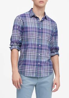 Banana Republic Untucked Standard-Fit Cotton Shirt