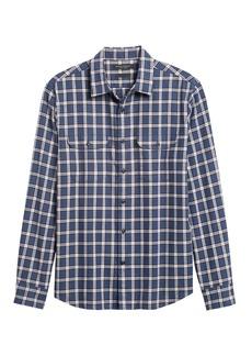 Banana Republic Untucked Standard-Fit Flannel Shirt