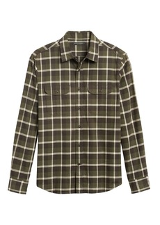 Banana Republic Untucked Standard-Fit Flannel Shirt