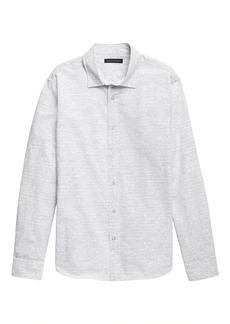 Banana Republic Untucked Standard-Fit Luxe Poplin Shirt