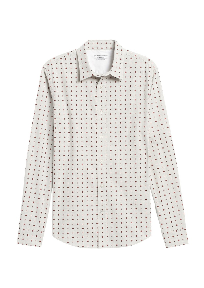 Banana Republic Untucked Standard-Fit Luxe Poplin Shirt