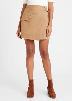 Banana Republic Utility Wrap Skirt