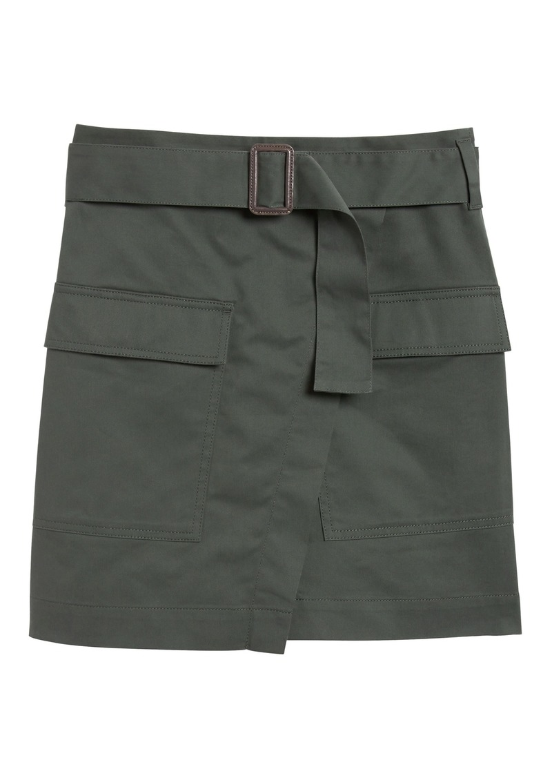 Banana Republic Utility Wrap Skirt