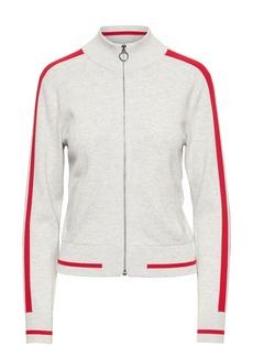 Banana Republic Varsity Track Jacket Sweater