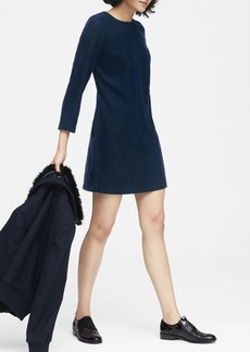 Banana Republic Velvet Shift Dress