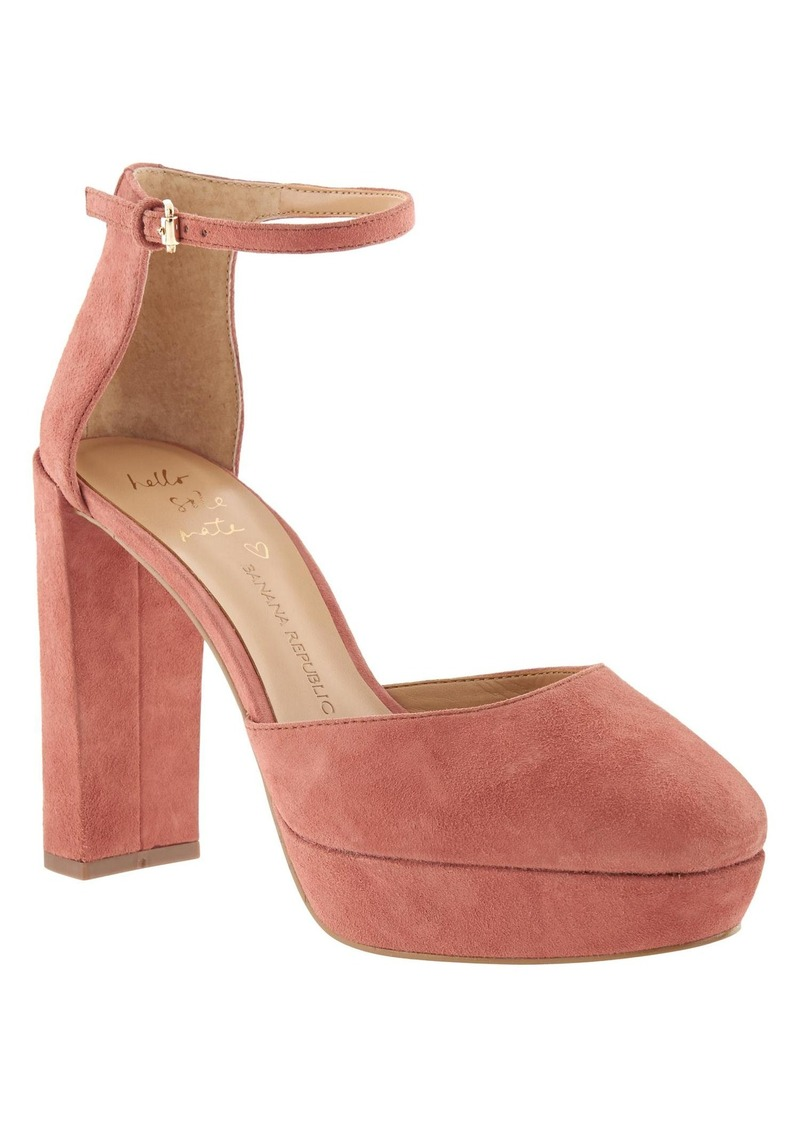 Banana Republic Villa Platform Pump