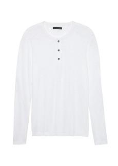c859c19f Banana Republic Waffle-Knit Crew-Neck Thermal T-Shirt | T Shirts