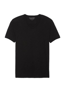 Banana Republic Vintage 100% Cotton V-Neck T-Shirt