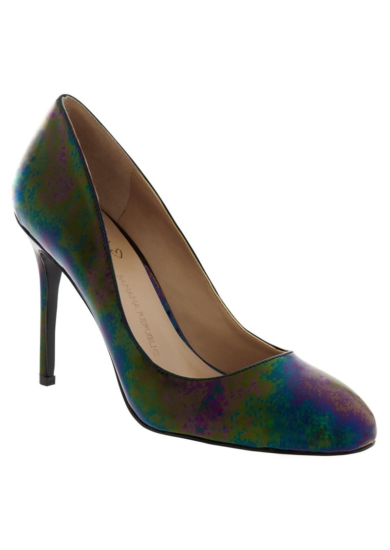 Banana Republic Violet Pump