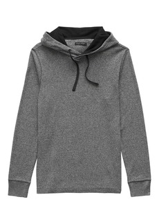 Banana Republic Waffle-Knit Cotton-Modal Hoodie
