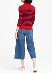 ab55effa7 Banana Republic Washable Merino Stripe Turtleneck Sweater
