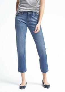 Banana Republic White Oak® High-Rise Medium Wash Vintage Straight Jean
