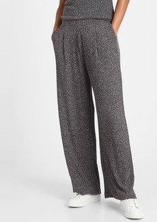 Banana Republic Wide-Leg Ribbed Knit Pant