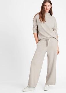 Banana Republic Wide-Leg Sweater Pant
