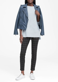 Banana Republic Windowpane High-Rise Legging