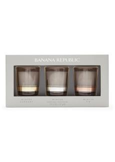 Banana Republic Winter 2oz. Candle Gift Set