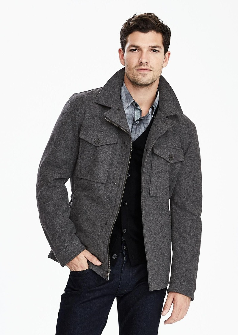 Banana Republic Wool Blend 4 Pocket Jacket Outerwear