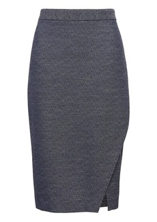 Banana Republic Wrap Effect Pencil Skirt