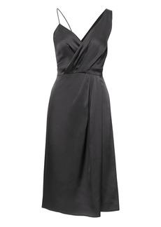 Banana Republic Wrap-Front Slip Dress