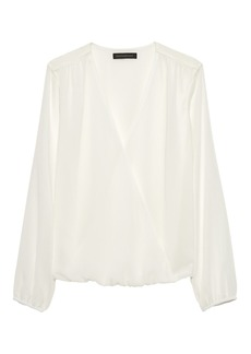 Banana Republic Wrap-Front Top