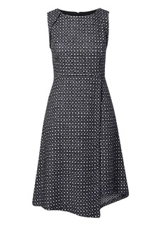 Banana Republic Wrap-Front Tweed Dress