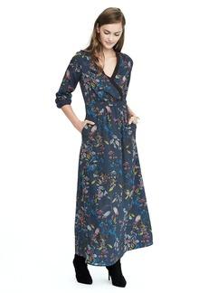 Wrap Maxi Dress