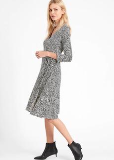 Banana Republic Wrinkle-Resistant Wrap Dress