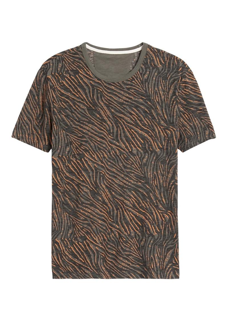 Banana Republic Zebra Print T-Shirt