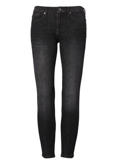 Skinny Zero Gravity Dark Gray Wash Ankle Jean