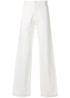 Band Of Outsiders A-line trousers - White